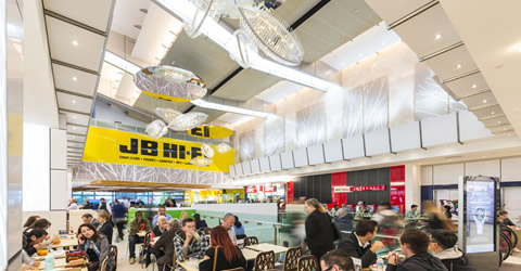 MacArthur Central Food Court QLD