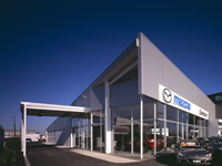 SJ Higgins Group: Mazda Showroom Essendon Fields